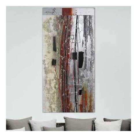 peinture abstraite et or 60x120 cm