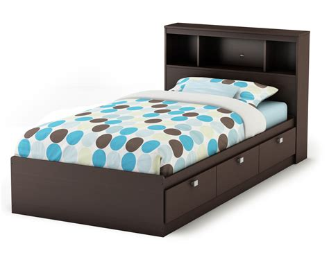 bedroom stunning espresso twin size bed frame