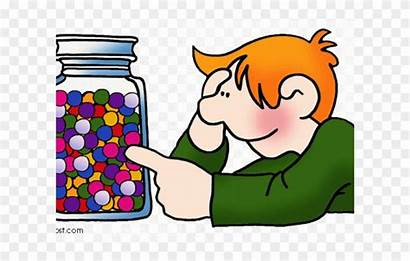 Clipart Clever Maths Reflection Child Phillip Martin
