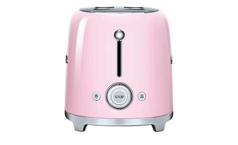 smeg 4 scheiben toaster tsf02pkeu cadillac pink