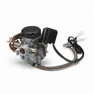 18mm Cvk Pd18j Carb Carburetor Gy6 50cc Scooter 139qmb