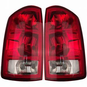 Pair Left  U0026 Right Tail Lights W  O Circuit Boards Fits 2002
