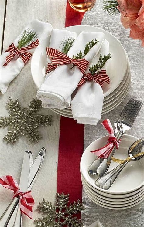 fancy christmas napkin folding ideas christmas