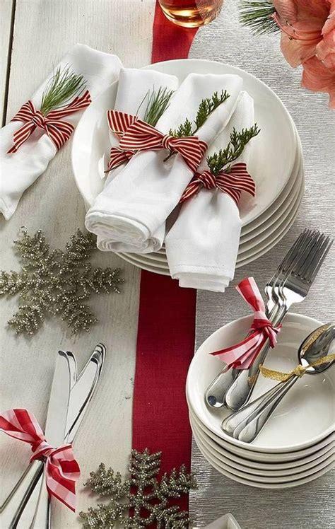 fancy christmas napkin folding ideas christmas