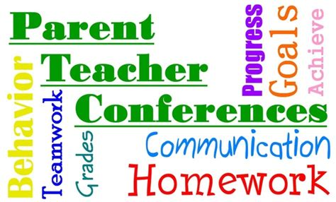parentteacher conference week silver strand elementary
