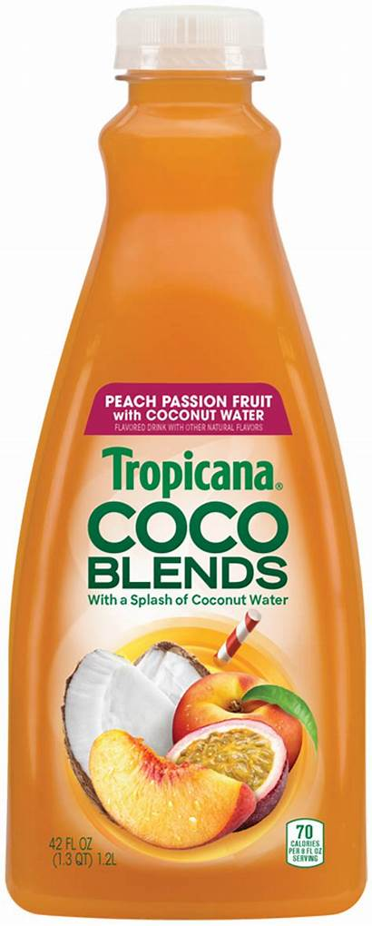 Tropicana Juice Coconut Water Drink Based Launches