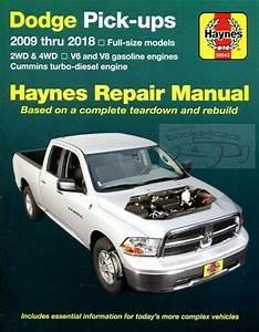 Dodge Ram Truck Shop Manual Service Repair Book Haynes