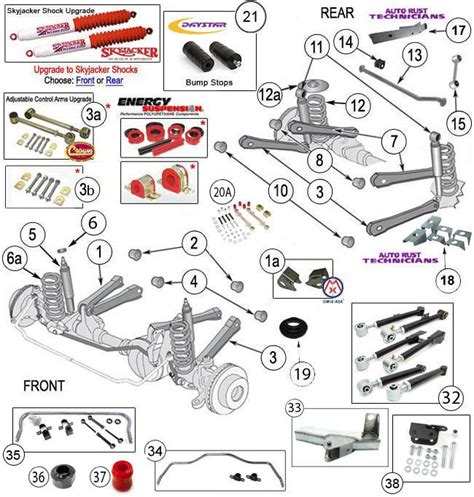 Jeep Exploded Diagram by Jeep Yj Suspension Diagram Pictures Jeep Yj Suspension