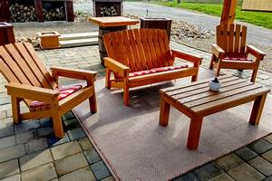 The, Diy, 2x4, Outdoor, Furniture, Project