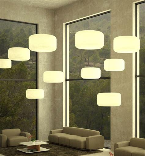lamparas colgantes modernas  la sala salas de estar
