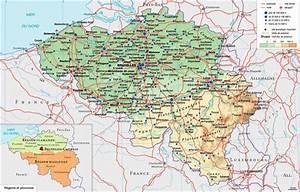 Carte Du Monde En Liège : carte belgique carte du monde ~ Teatrodelosmanantiales.com Idées de Décoration