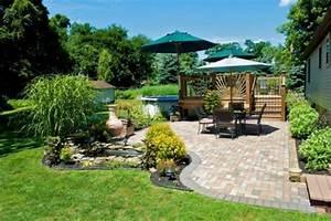 Cloturer Son Jardin Pas Cher : conseils pour am nager son jardin espace zen ~ Melissatoandfro.com Idées de Décoration