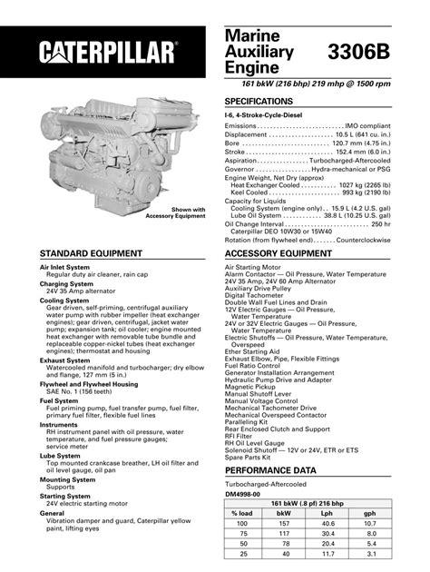 CAT 3306 DITA Marine Engine - F&J Exports Limited