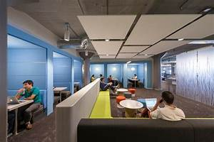 inside twitter's global headquarters by IA interior architects