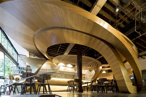 Interiors Lot Character by Lot 1 Caf 233 Interior Architect Magazine Wood