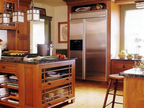 Mission-style Kitchen Cabinets