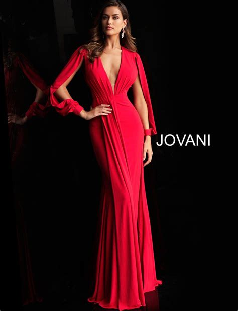 Voted MN's Best Prom Store | Red prom dress, Long sleeve ...