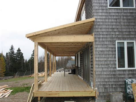covered front porch plans this project added a much need covered porch to a salt box style home prior to the covered