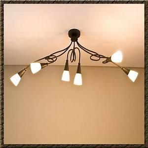 Rustikale Lampen Landhausstil : deckenleuchte deckenlampe landhausstil lampen leuchten scavoglas neu ebay ~ Sanjose-hotels-ca.com Haus und Dekorationen