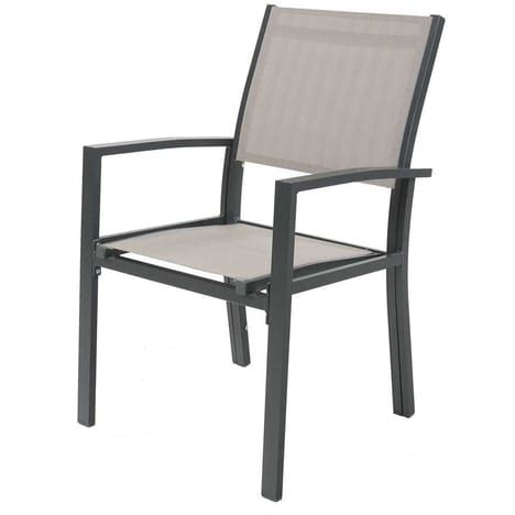 chaise collectivit stunning chaise de jardin aluminium photos ridgewayng