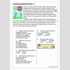 Reading Comprehension For Beginner And Elementary Students 2  English Esl Worksheets