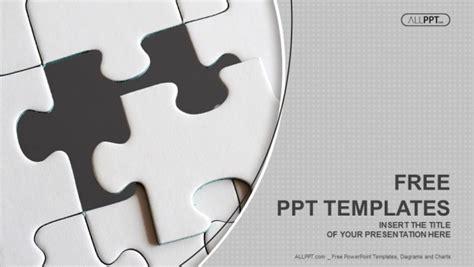 jigsaw puzzle pieces powerpoint template designhooks