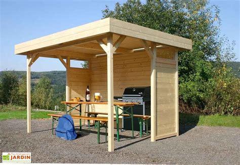 tonnelle en bois tonnelle bois toit plat avignon parois tonnelle regensburg s710 solid