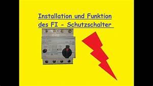 Fi Schalter Anklemmen : fi schutzschalter funktion aufbau installation ~ A.2002-acura-tl-radio.info Haus und Dekorationen