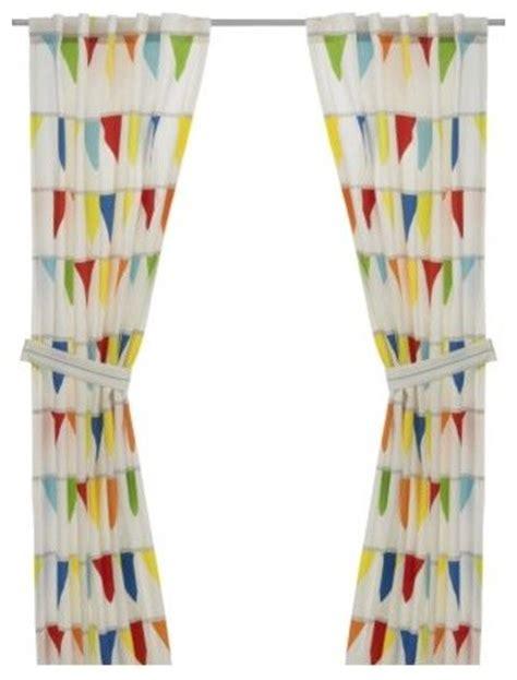 vitaminer vimpel pair of curtains with tie backs