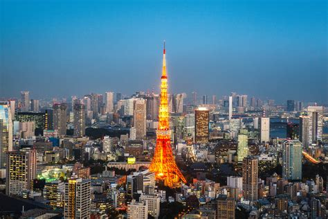 wallpaper tokyo tower tokyo japan cityscape skyline