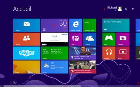 arri鑽e plan bureau windows 8 module 2 le syst 232 me d exploitation windows 8 1