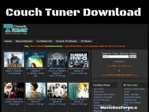 All You Need To Know About Couchtuner & Its Alternative