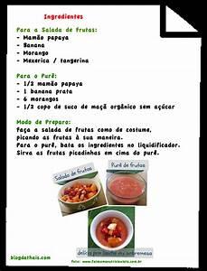 Salada de Frutas Especial! Blogdathais