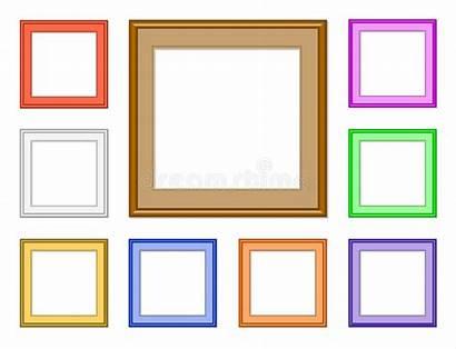 Square Frame Frames Vierkant Kader Colorful Struttura