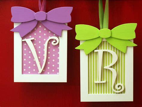 decorazioni per lettere iniziale nome bambino decorazione per cameretta con