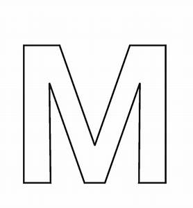 letter m coloring pages | Only Coloring PagesOnly Coloring ...