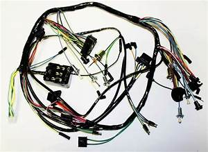 1965 Ford Mustang Under Dash Complete Wire Harness Made In