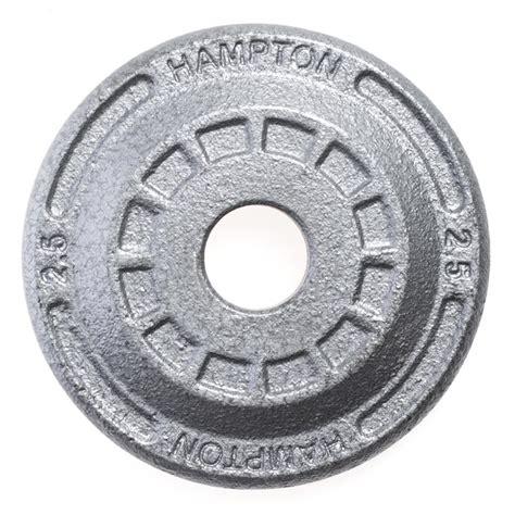 hampton fitness standard iron plates lb