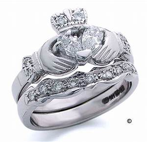 information about lindacliffordcom irish jewelry With claddagh diamond wedding ring