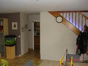 good deco peinture salon 2 couleurs 2 salonsalle 224 With comment decorer un salon
