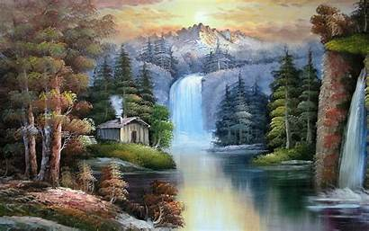 Mountain Scenes Scene Lake Wallpapers Wallpapersafari Sunshine