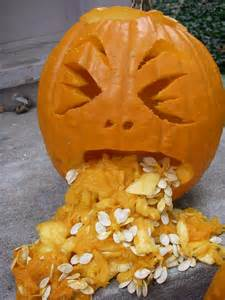 Pumpkin Template Throwing Up by Drunk Pumpkin Throwing Up Food Amp Beverage