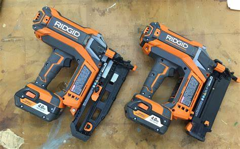 Fascinating Flat Model Knew Sandwiched Brutal Screwed It Ridgid Hyperdrive Cordless Nailers