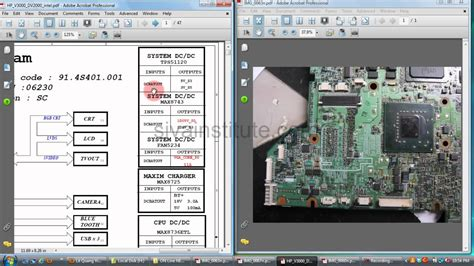 laptop motherboard repair chip level   check dead