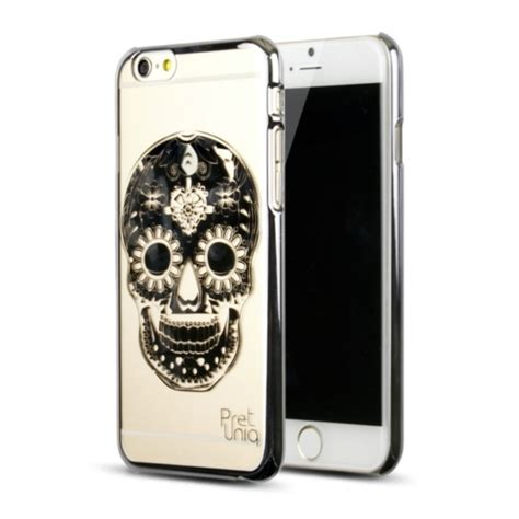design iphone 6 cases iphone 6 plus luxury gold designer skull cover