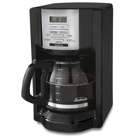 Free shipping on eligible items. Shop Sunbeam BVSBEHX23 12-cup Programmable Coffee Maker - Free Shipping On Orders Over $45 ...