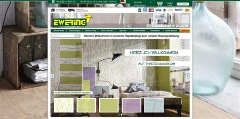 tapeten shop tapetenshop im neuen design ewering