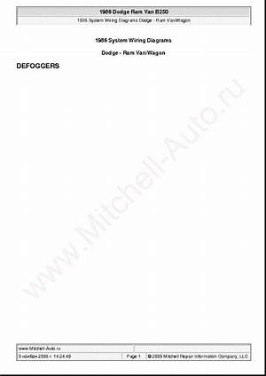 1992 Dodge B250 Wiring Diagram 27497 Centrodeperegrinacion Es