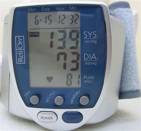 ReliOn Automatic Blood Pressure Monitor Wrist Blood