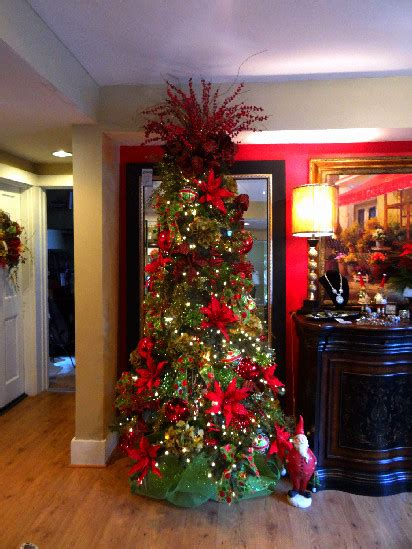 christmas decor at obryonville sacksteders traditional
